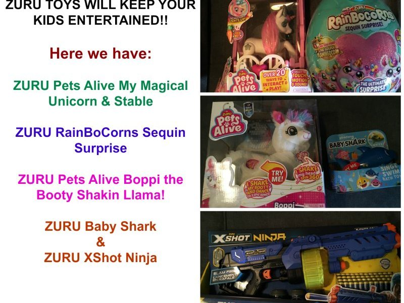 Its Never To Late To Play With Some ZURU Toys, Check These Out! @ZURUToys
