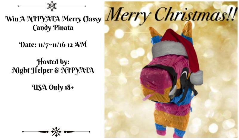 NIPYATA Merry Classy Candy Pinata    #Giveaway