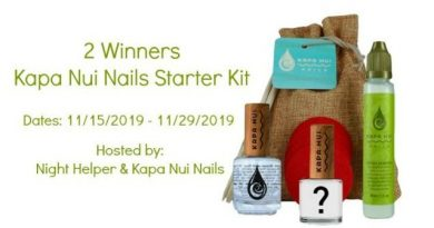Kapa Nui Nails Starter Kit Giveaway