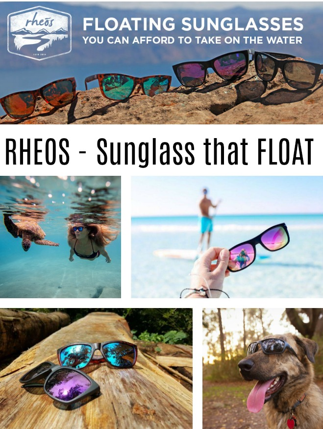 Rheos Floating Sunglasses - 2019 Top Holiday Gift Guide! #Part 6 #Holidays #Gifts