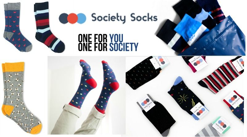 Society Socks - 2019 Top Holiday Gift Guide! #Part 8 #Holidays #Gifts