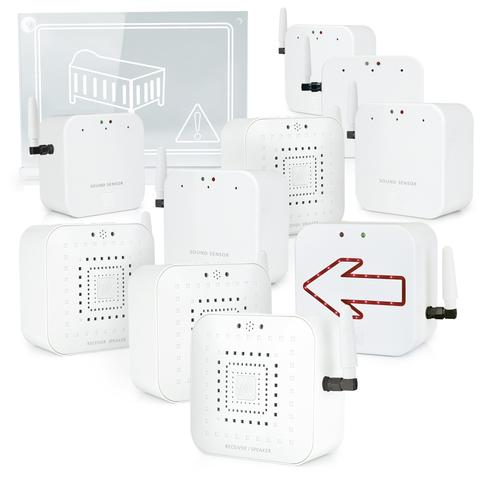 Early Alert Smoke Alarm Signal Extender Kits, extend coverage in homes of any size  #EarlyAlert