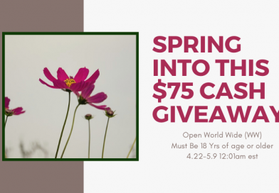 Spring Into This $75 Paypal Cash Giveaway.  #SpringCash