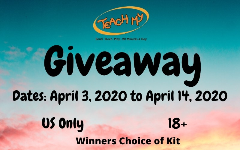 Teach My Giveaway, ends 4/14/20 at 11:59p cst