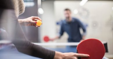 4 Healthy Reasons Why You Should Play Table Tennis