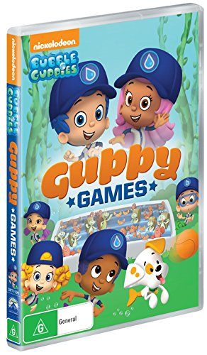 Bubble Guppies: The Great Guppy Games Available on DVD May 12, 2020!  #BubbleGuppies