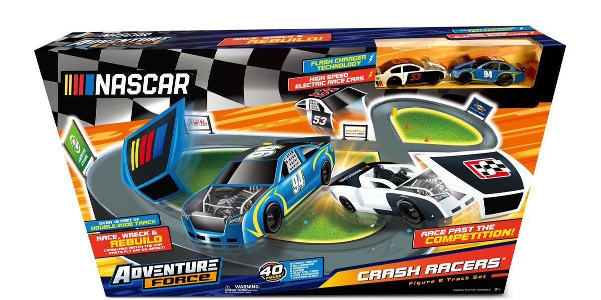 NASCAR Adventure Force Crash Racers Set.  #KeepRacing