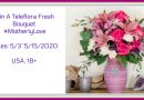 "Win A Teleflora ""Motherly Love"" Fresh Bouquet.  #Giveaway #HappyMothersDay #MotherlyLove #Teleflora"