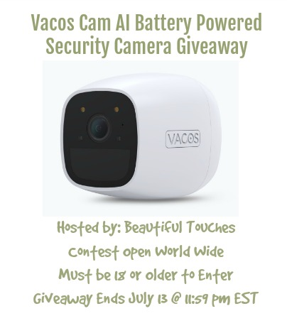 Giveaway Sponsored by Vacos – Ends at 11:59 PM on July 13.