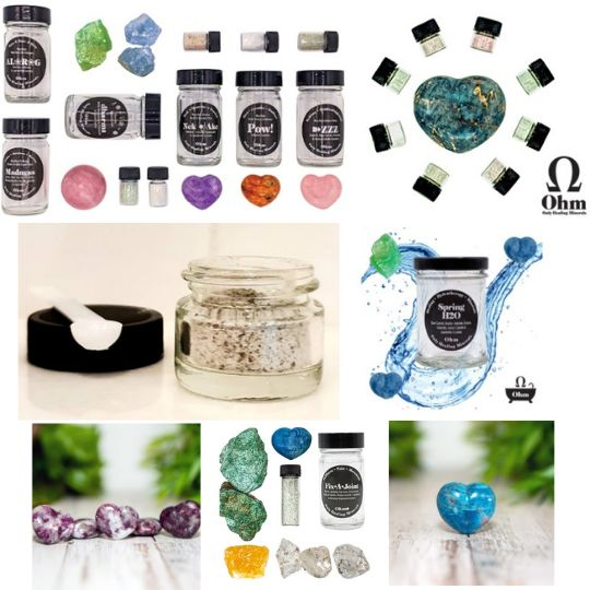 Ohm Only Healing Minerals #ad 2020 Holiday Gift Guide Ideas For Everyone! PG#4