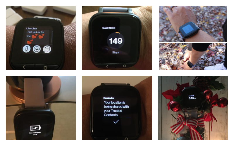 It's A Holly, Jolly, Christmas With Verizon New Care Smart Watch For Seniors  #caresmart #verizonSmartwatch