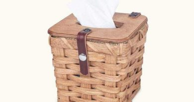 How to decorate your bathroom with wicker baskets