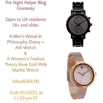 It's A Watch Giveaway Not One But Two…. Ends 5/31 12AM Value$364.00