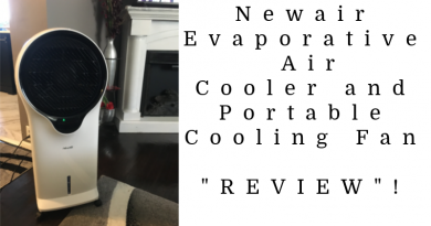 Newair Evaporative Air Cooler and Portable Cooling Fan
