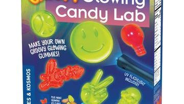 Groovy Glow Candy Lab